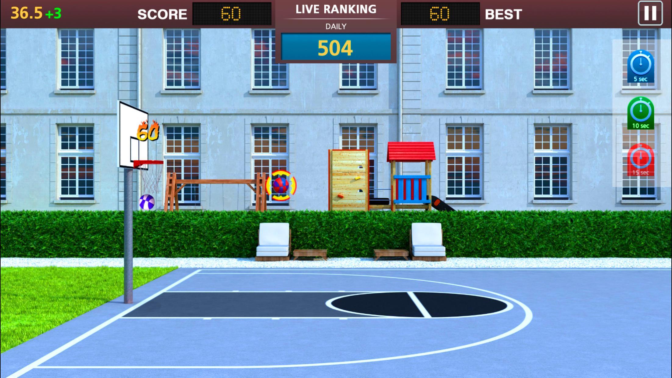 Basketball Mega Sports NBA Stars 游戏截图4