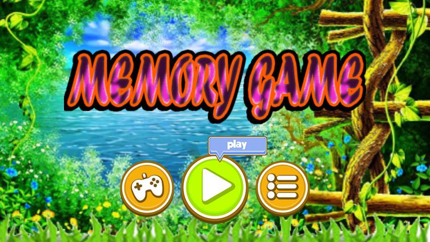 Memory Game 游戏截图1