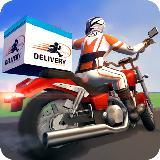 Moto Rider Delivery Racing