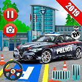 快速 警察 汽车 停车处 3D
