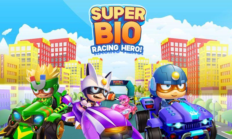 超级生物 - 赛车英雄 游戏截图1