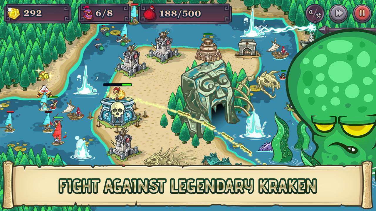 King of Bandit Tower Defense 游戏截图2