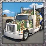 大兵卡车停车场3D