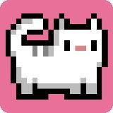 Cat-A-Pult: 投出8位图形风格的猫咪