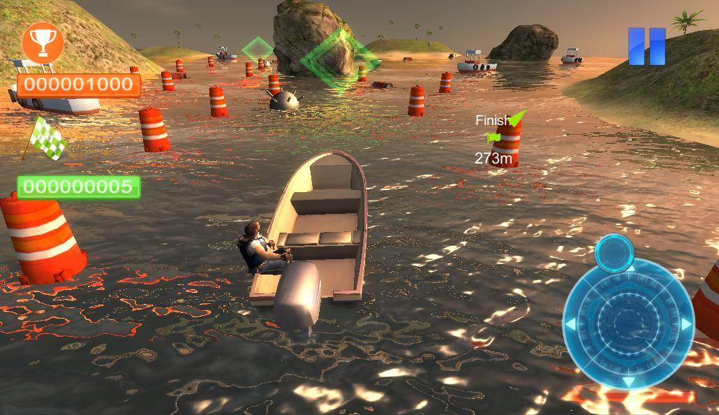 Реальная парковка лодки 3D 游戏截图2