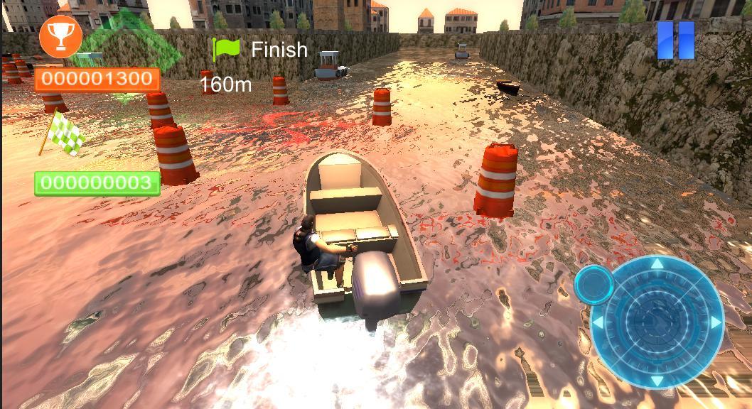 Реальная парковка лодки 3D 游戏截图3