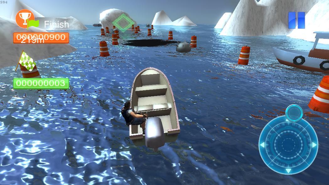 Реальная парковка лодки 3D 游戏截图4