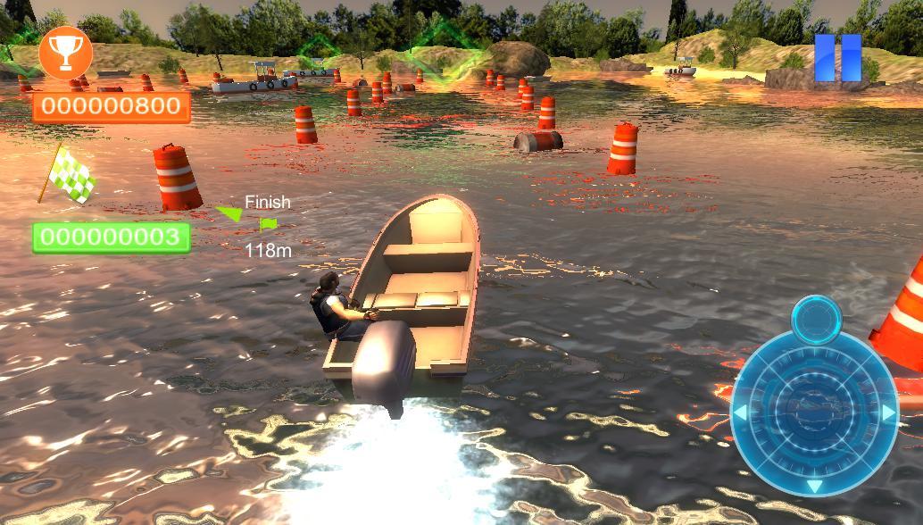 Реальная парковка лодки 3D 游戏截图5