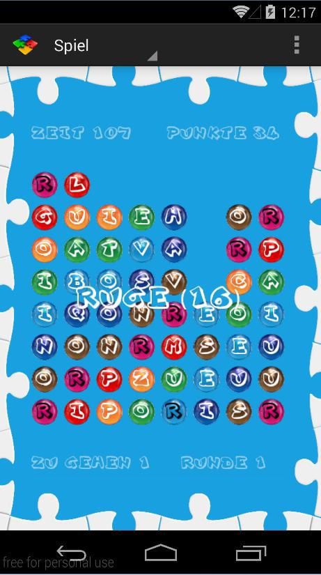 Puzzle Word 游戏截图3