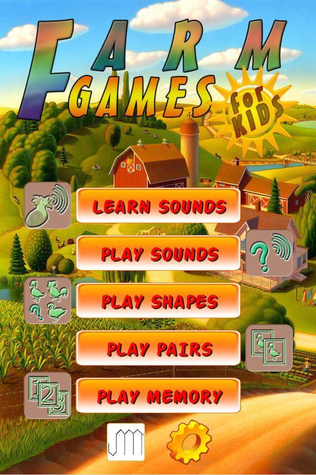 Farm Games for Kids 游戏截图1