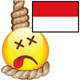 Digantung, Indonesia permainan