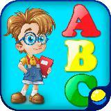 儿童游戏:学习字母