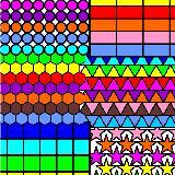 Geometri Boyama Kitabı