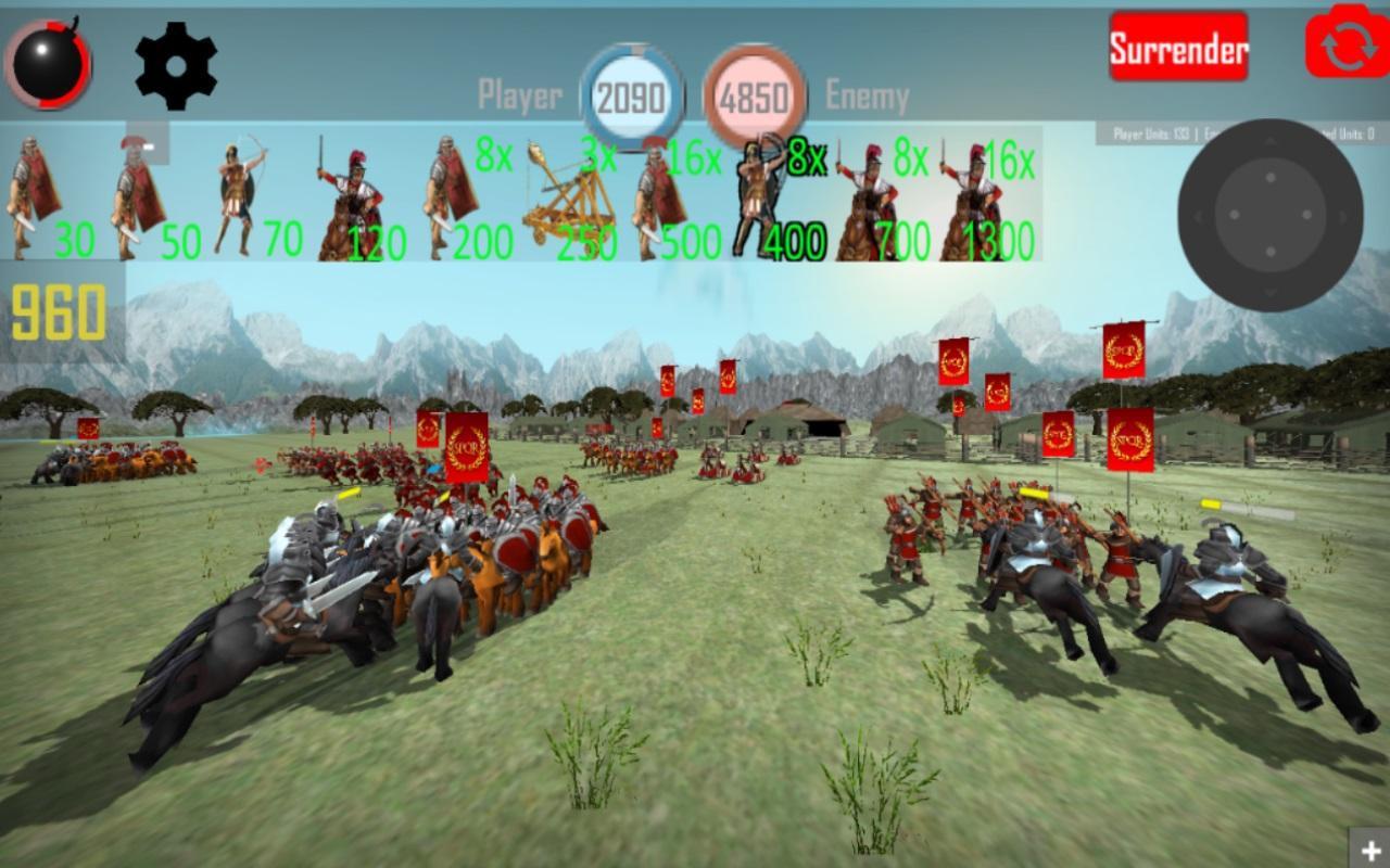 罗马帝国 - 共和国时代:实时战略游戏 游戏截图2