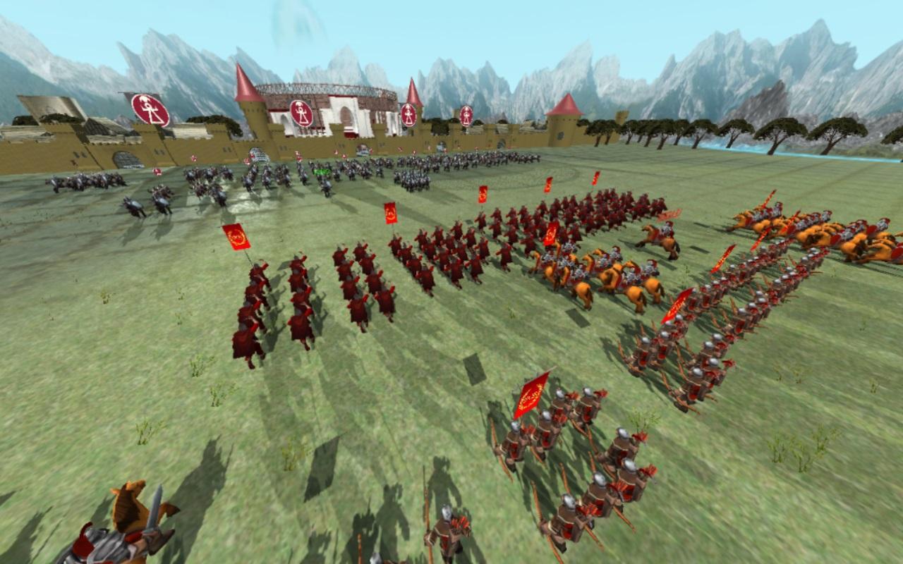 罗马帝国 - 共和国时代:实时战略游戏 游戏截图3