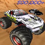 巨型咆哮怪物 - 方程式赛车和扁平足