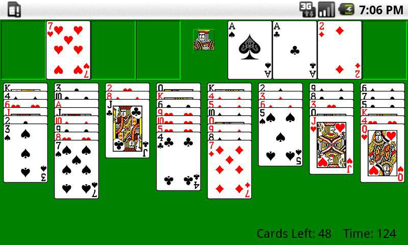 Classic FreeCell HD 游戏截图1