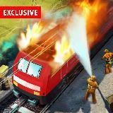 Burning Train Simulator Games