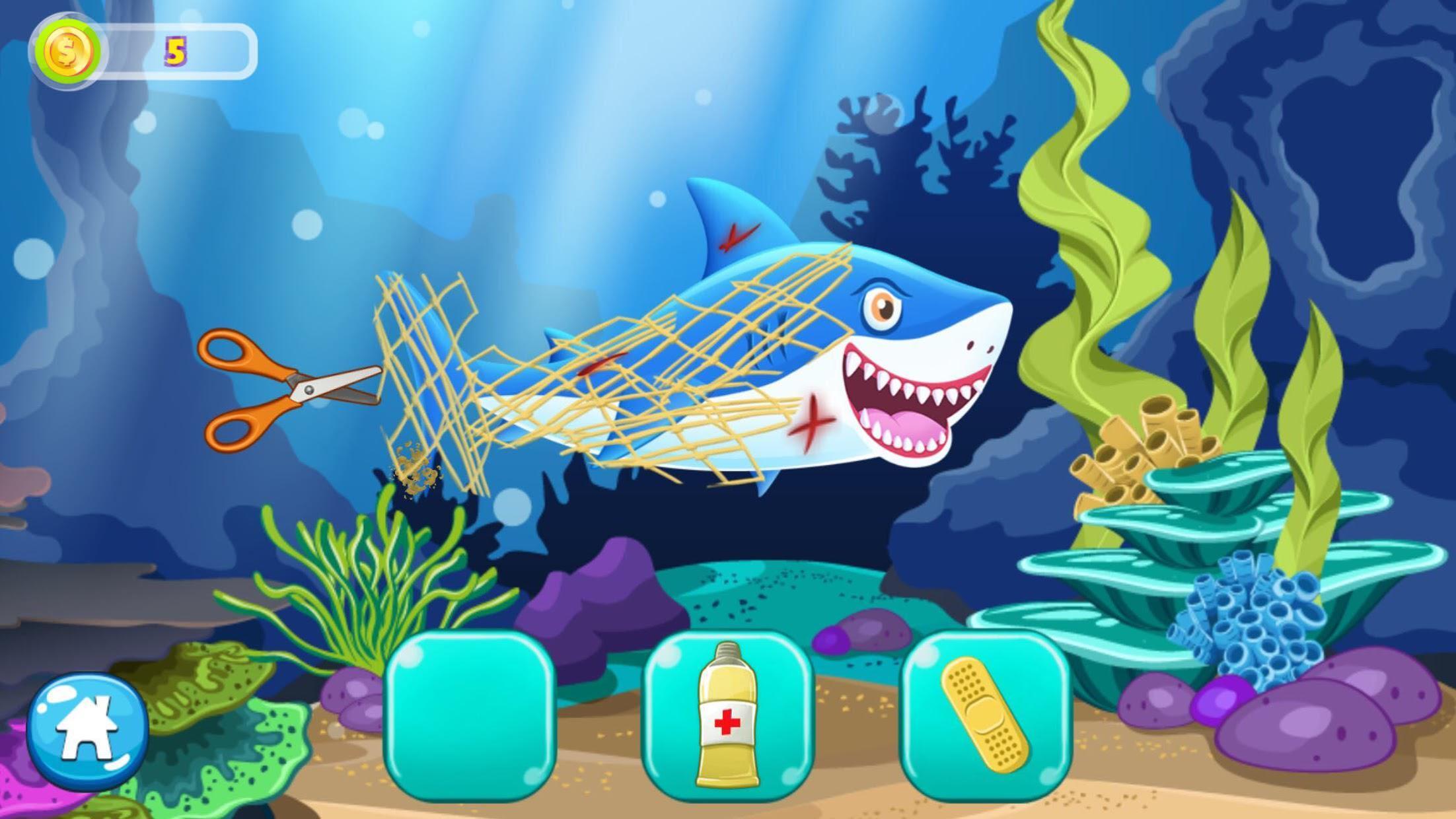 Mermaid Princess Aquarium 游戏截图2