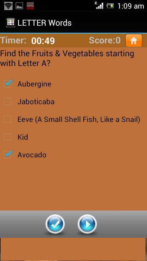 Letter Words Quiz A To Z 游戏截图5