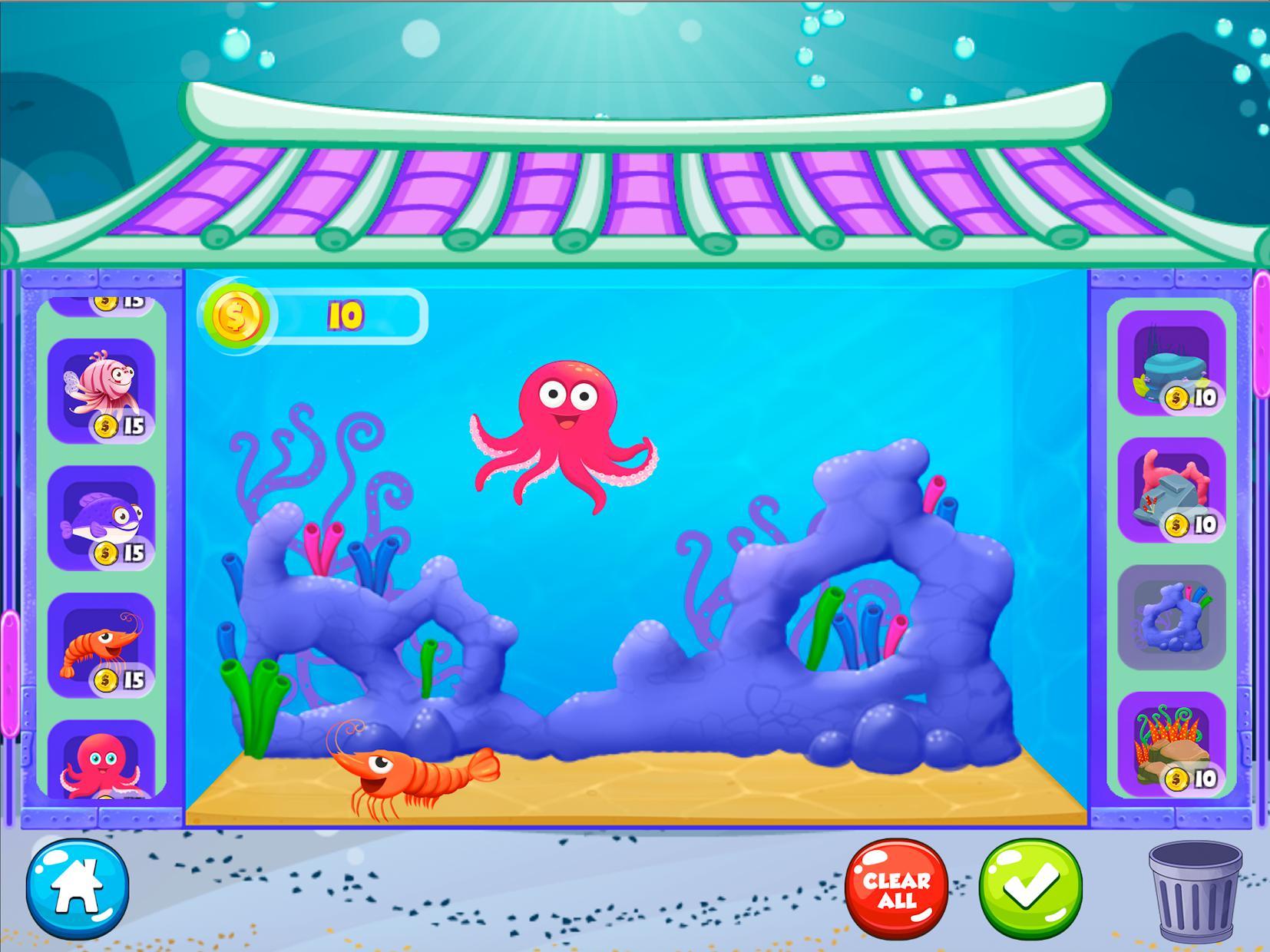 Mermaid Princess Aquarium 游戏截图5