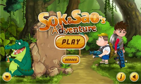 Sok and Sao's Adventure 游戏截图1