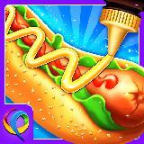 疯狂的热狗制造商 - 疯狂烹饪冒险游戏
