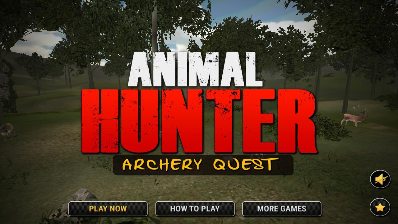动物猎人射箭任务 游戏截图1