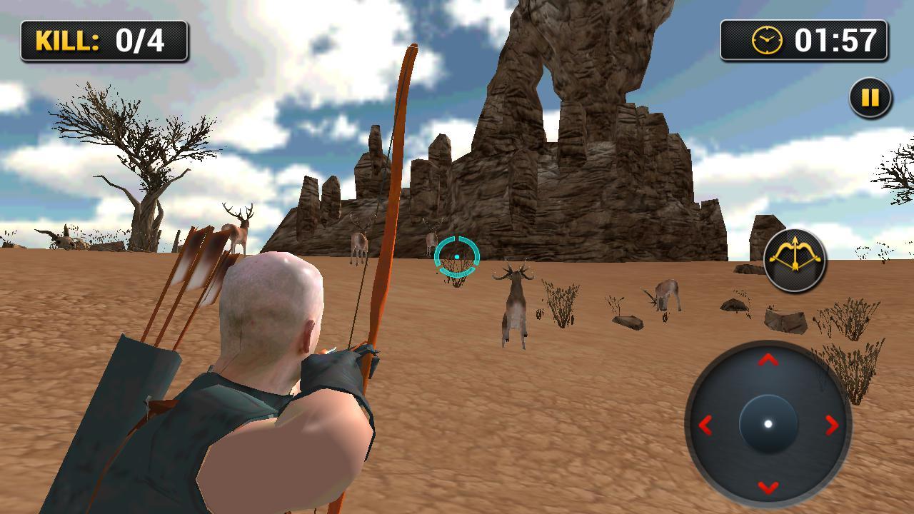 动物猎人射箭任务 游戏截图3