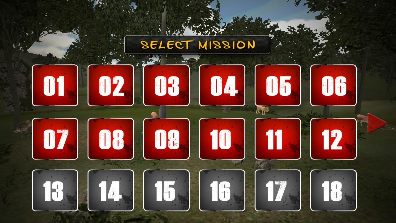 动物猎人射箭任务 游戏截图5