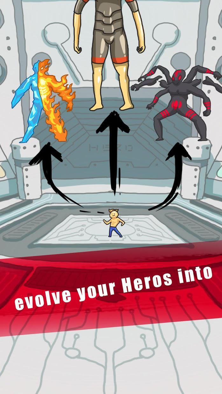 英雄的进化世界 游戏截图2