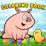 Animal Coloring Page for kid game
