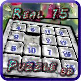 Real 15 Puzzle 3D