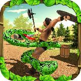 Wild Anaconda Snake Forest Attack Simulator