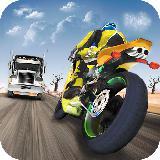 摩托车自行车公路车手:摩托车赛车和摩托车驾驶