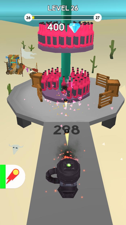 Cannon Master Bottle Shoot 游戏截图3