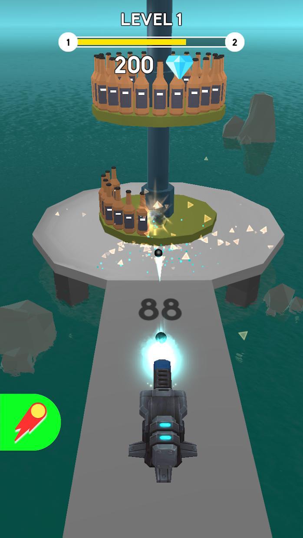 Cannon Master Bottle Shoot 游戏截图5