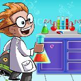 科学实验室实验:疯狂的科学家乐趣