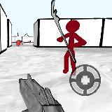 火柴人 FPS:3D射击游戏
