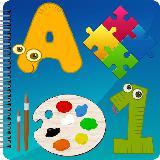 学龄前的孩子学习与游戏