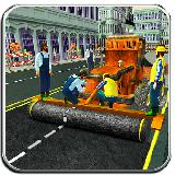City Builder Real Road Construction