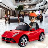 购物 购物中心 电动 玩具 汽车 主动 汽车 游戏