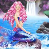 Meerjungfrauen, Elfen - Anzieh-Stickerspass
