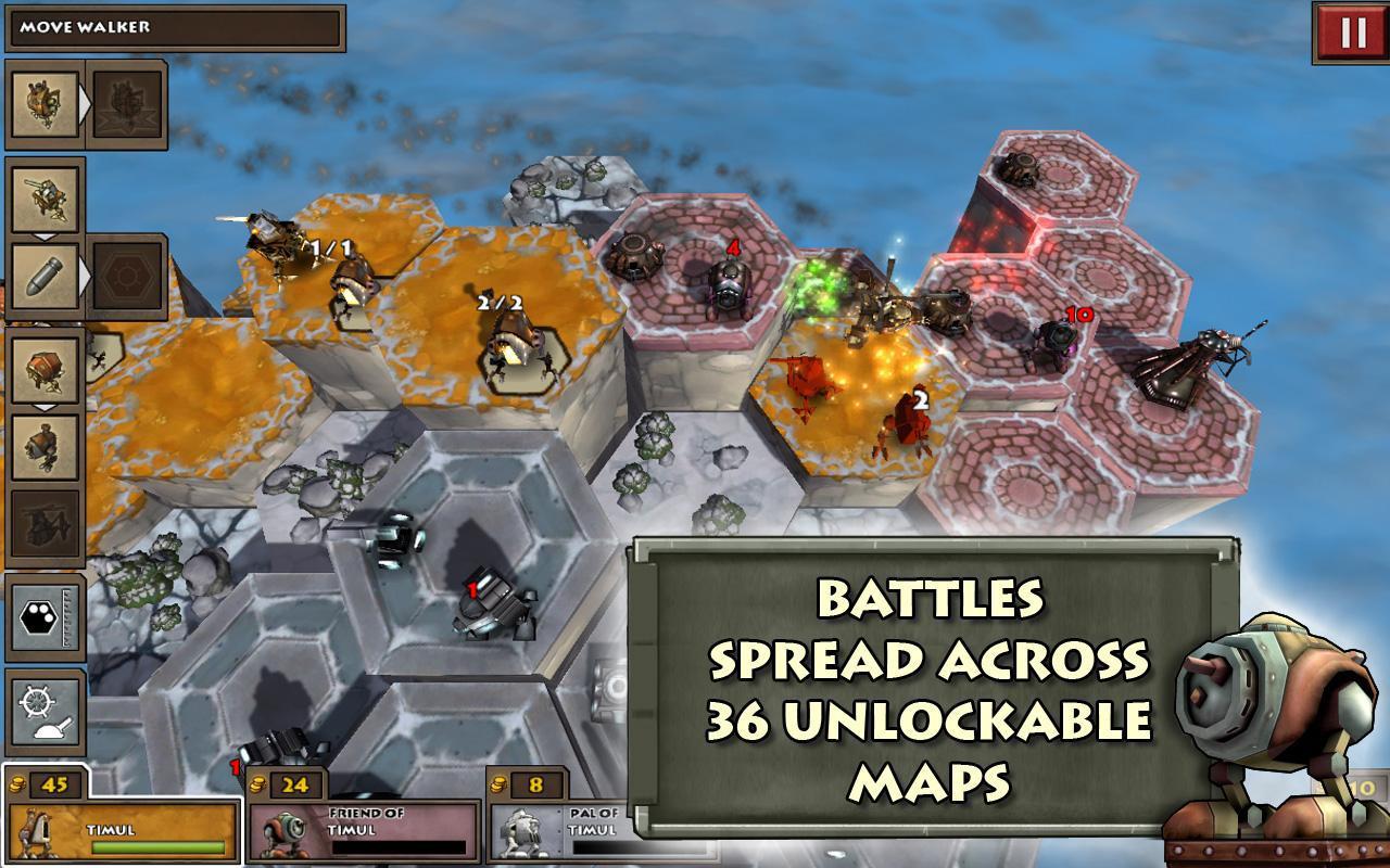 Greed Corp HD 游戏截图1