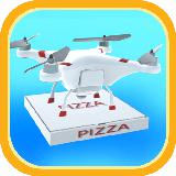 Drone Pizza Delivery 3D