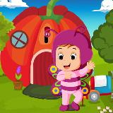 Cute Butterfly Girl Rescue Best Escape Game-370