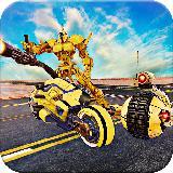 Futuristic Robot War: BikeTransform Robot games
