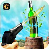 Expert Gun Bottle Shooter - Free Shooting 3D Game
