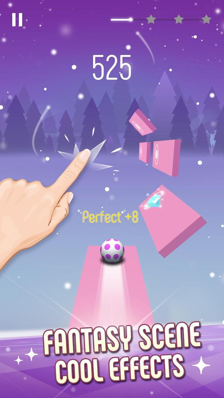 Twist Ball: 3D钢琴音乐块 游戏截图3