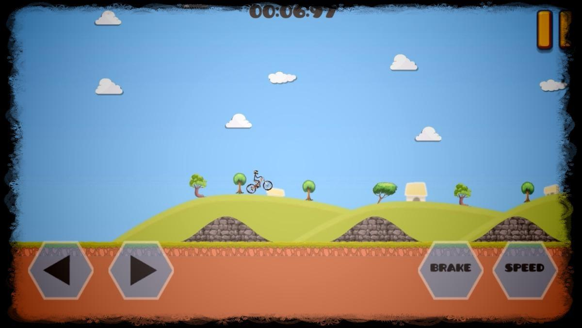 跳转自行车 - 山地极限 游戏截图5